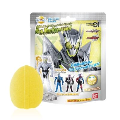 日本Bandai-假面騎士ZERO-ONE&傳說騎士Ⅳ入浴球5入(附公仔1個/4款隨機出貨)