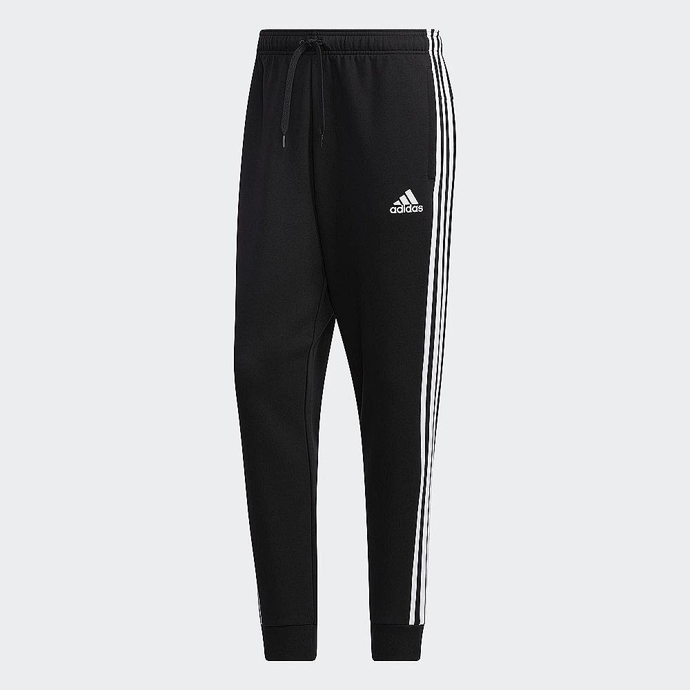 adidas 運動長褲 縮口褲 慢跑 訓練 男款 黑 GK0621