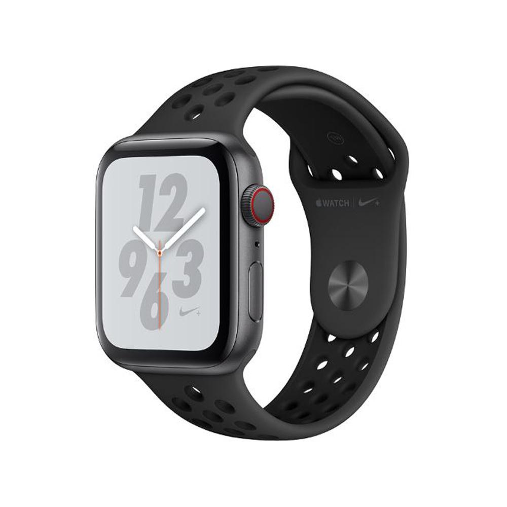 Apple Watch S4 Nike+ 40mm GPS+網路版太空灰鋁金屬配黑運動錶帶