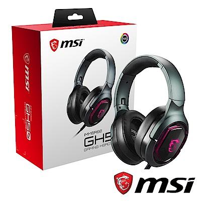 MSI微星 IMMERSE GH50 電競耳機