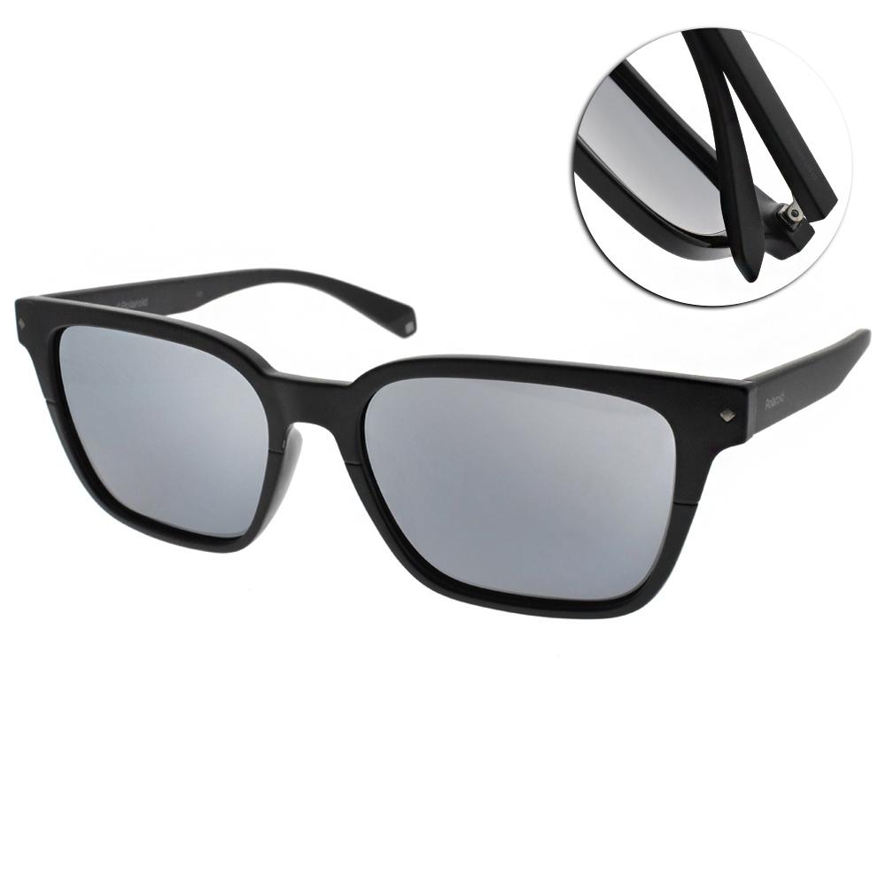 Polaroid 偏光太陽眼鏡 簡約百搭款/霧黑 #PLD6044FS 807EX