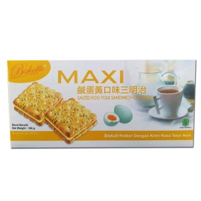 愛炫  三明治鹹蛋黃口味(160g)