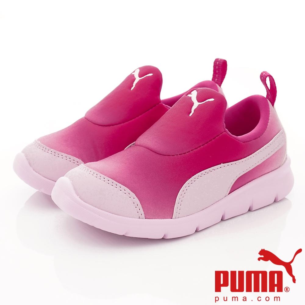 PUMA童鞋 輕量漸層運動款 ON91259-03桃(中小童段)