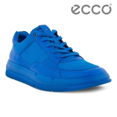 ECCO SOFT X M 輕盈運動休閒鞋 男鞋 天堂藍