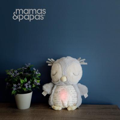 【Mamas & Papas】依偎貓頭鷹(聲光玩偶)