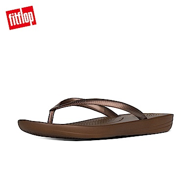 FitFlop IQUSHION夾腳涼鞋銅金色