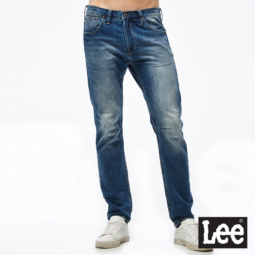 Lee 中腰合身小直筒牛仔褲/101+ @ Y!購物