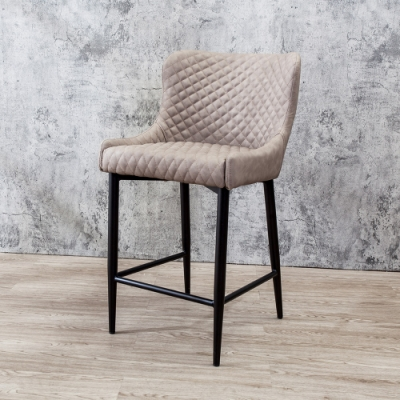 Boden-迪斯工業風吧台椅/吧檯椅/高腳椅(二入組合)-49x58x88cm