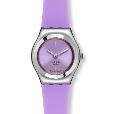 Swatch Irony 金屬Lady系列手錶 LAVANDE RESTYLED -25mm
