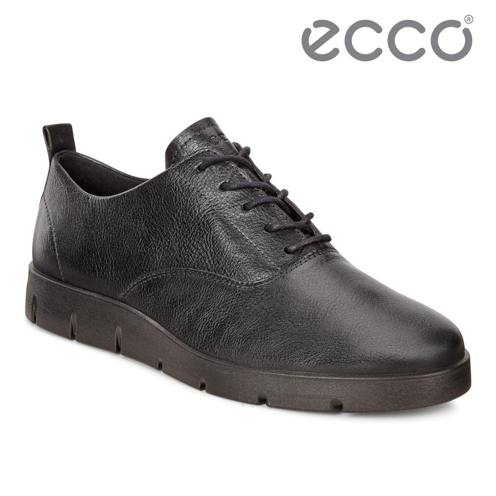 ECCO BELLA 舒適簡約平底休閒鞋 女鞋 黑色