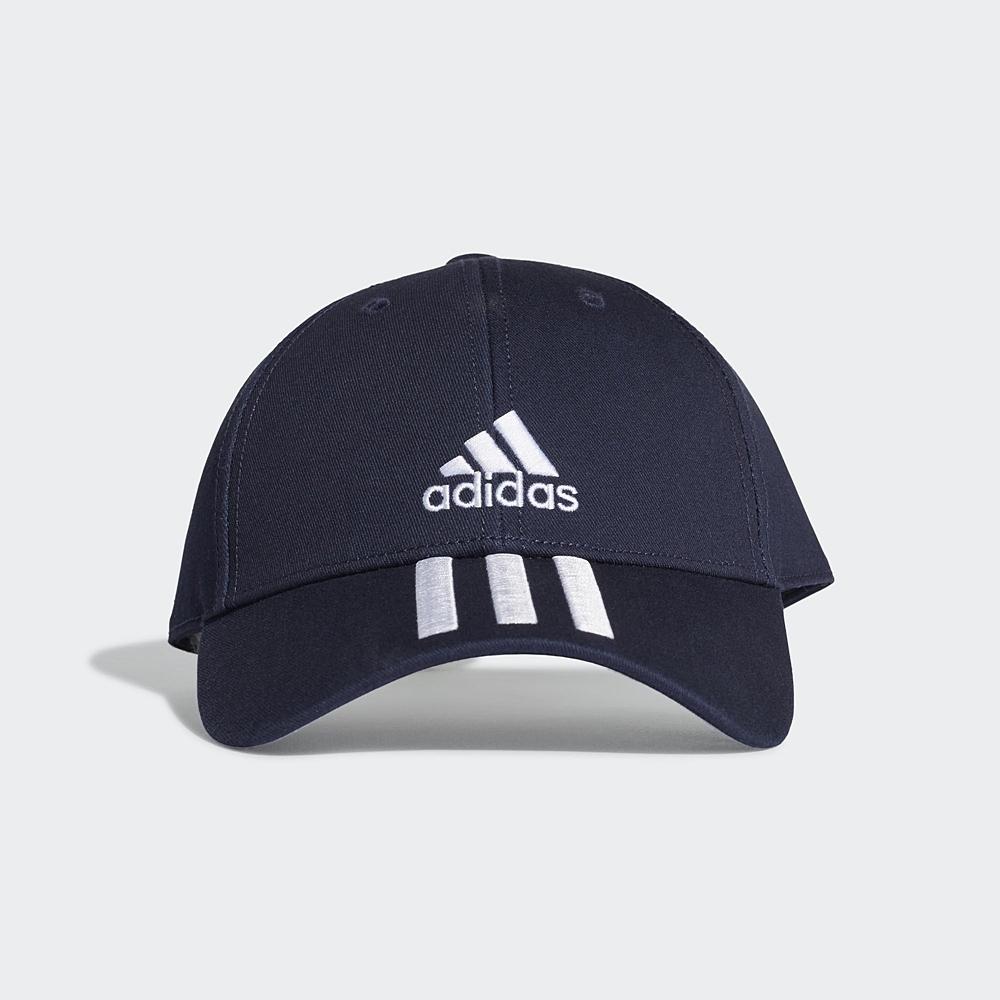 adidas 帽子 老帽 棒球帽 遮陽帽 可調式 藍 GE0750