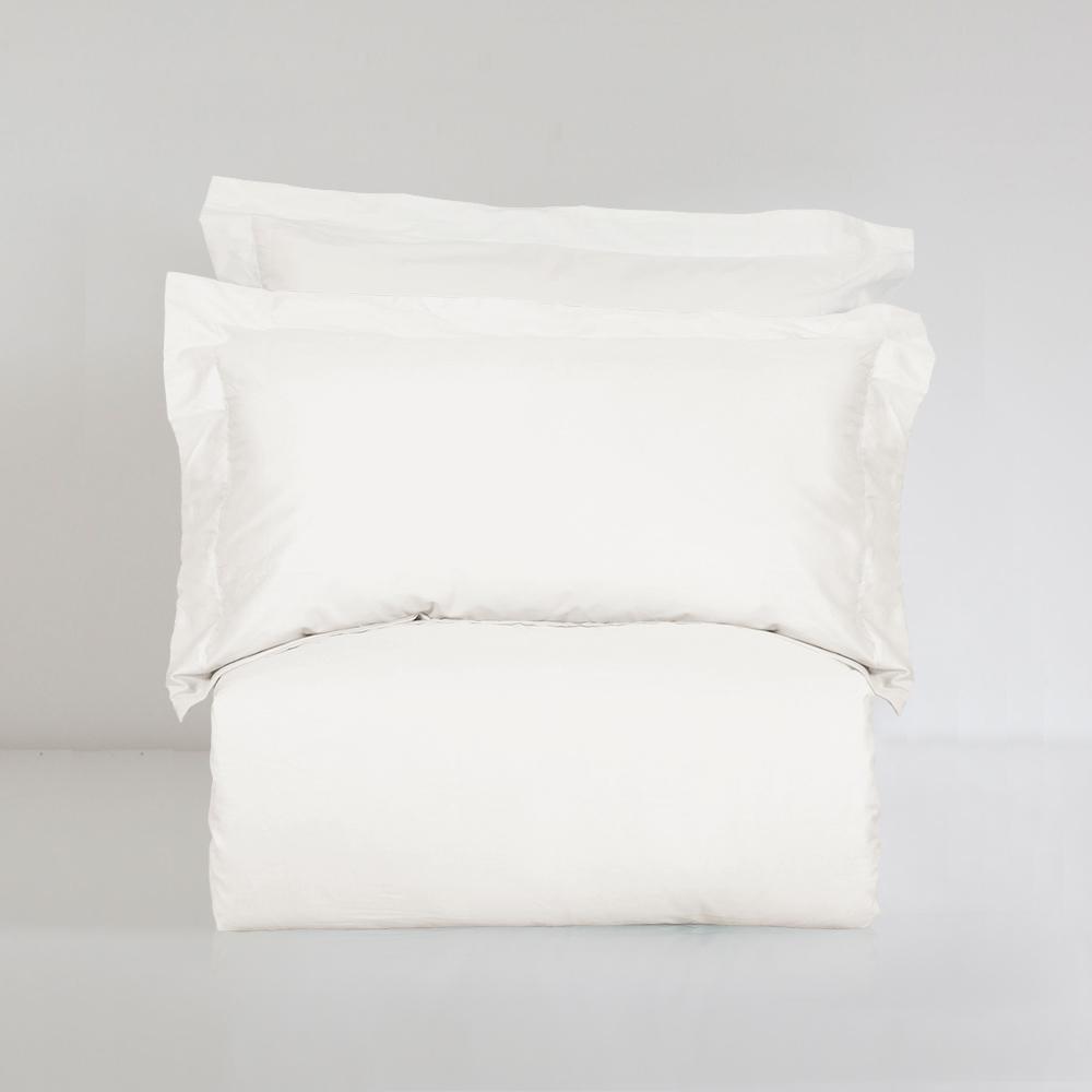 BUNNY LIFE 枕套-一朵雲-絲光精梳棉-純粹系列