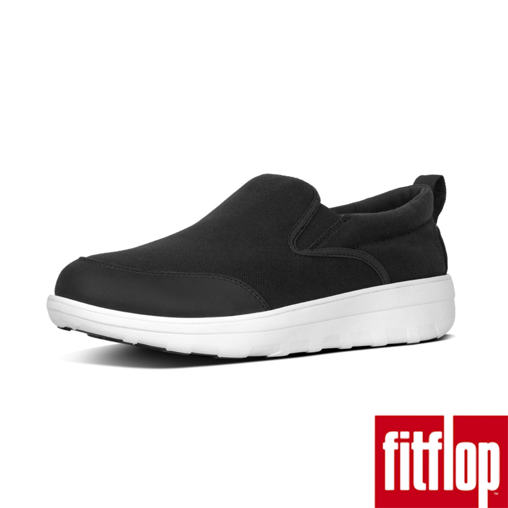 FitFlop LOAFF CANVAS SKATES-黑色