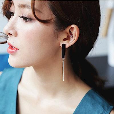 [時時樂限定]梨花HANA  極簡冷淡風格INS時髦耳環