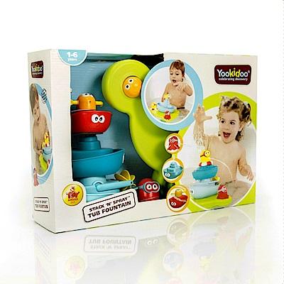 Yookidoo 以色列 洗澡/ 戲水玩具 - 海洋公園疊疊樂噴泉