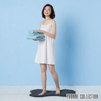 Yvonne Collection 法蘭絨骨頭造型地墊(60x90cm)- 暗灰