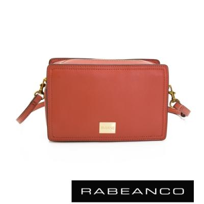RABEANCO 心系列幸福方塊包 橘紅
