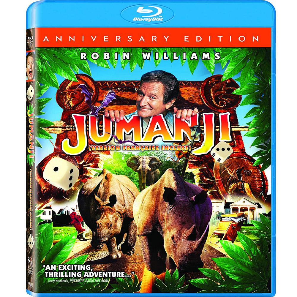 野蠻遊戲  Jumanji   (20週年特別版) 藍光 BD