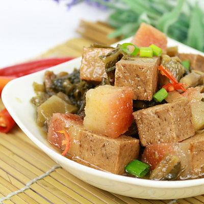 高興宴 素人上菜-長壽鴻福梅干扣肉500g(蛋奶素)-適合5-7人)
