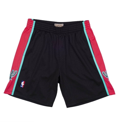 M&N NBA RELOAD 異色 復古球褲 馬刺隊 1998