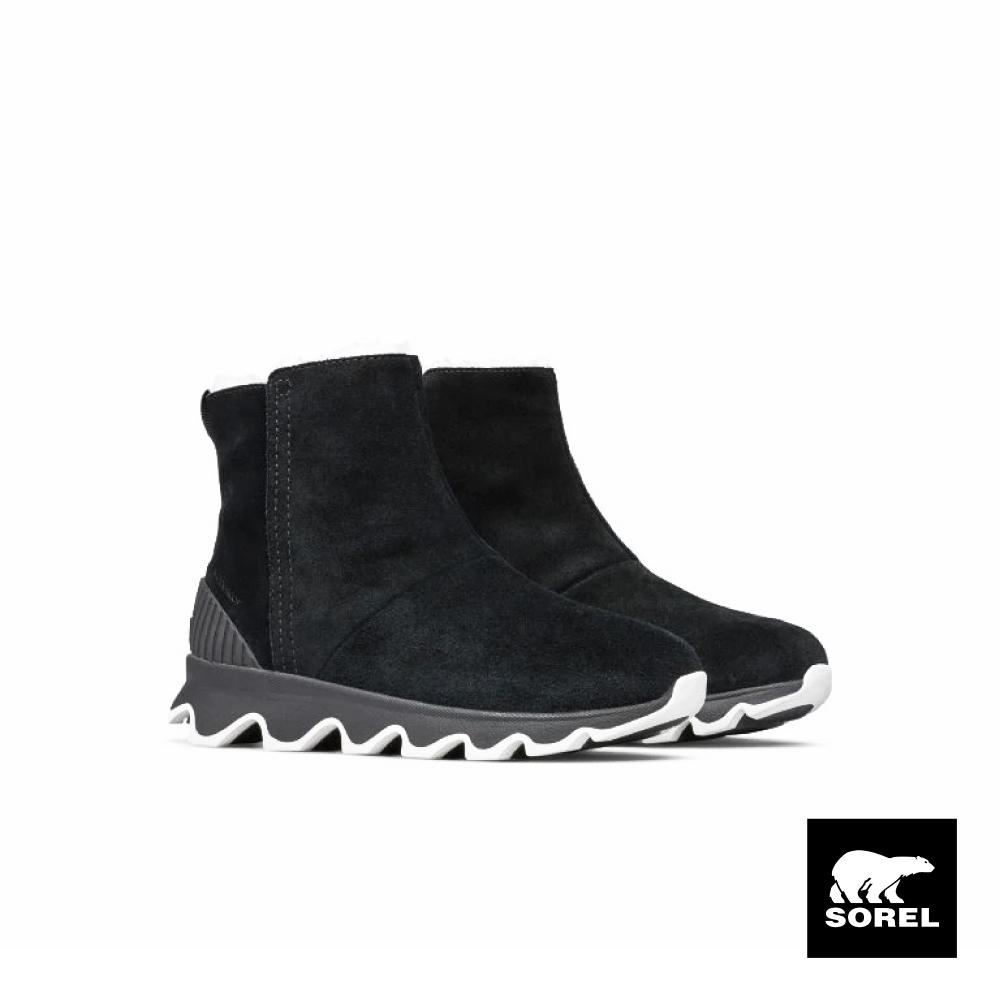 SOREL-KINETIC 女生休閒短靴-黑色