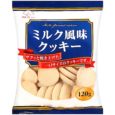 三矢製果 牛奶風味餅乾(120g)