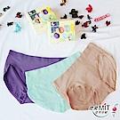 推EASY SHOP-iMEWE 中低腰三角褲精美禮盒(三件組)(玩美色)