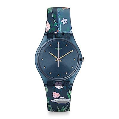 Swatch OVNI GARDEN 飛碟花園手錶