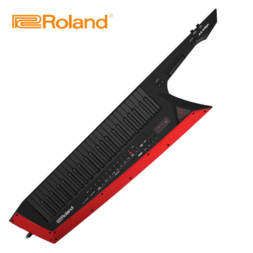 ROLAND AX-Edge Keytar 演奏型合成器 酷炫黑色版本