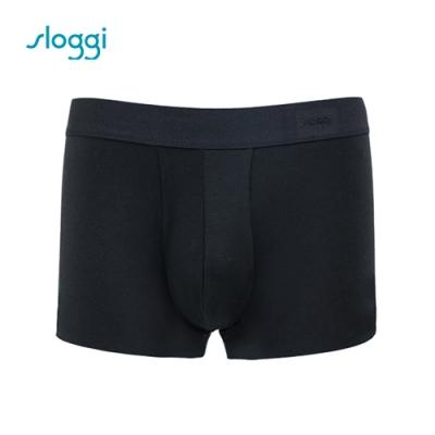 sloggi men ZERO Feel 零感系列男士平口褲 純粹黑 Y90-443 K9
