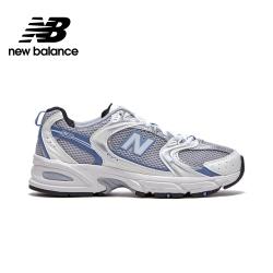 [New Balance]復古運動鞋_中性_銀藍色_MR530KC-D楦