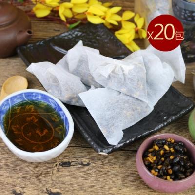 台南莊記 黃金三角黑豆茶20包(300g/包)
