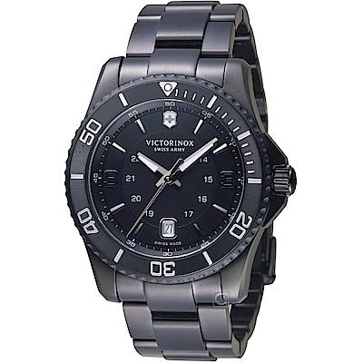VICTORINOX維氏Maverick黑色腕錶(VISA-241798)