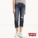 Levis 女款 男友褲 中腰寬鬆版牛仔長褲 Boyfriend Fit 九分褲