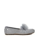 UGG女士 KALEY 絨毛休閒樂福鞋