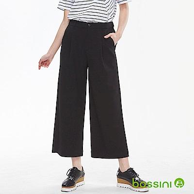 bossini女裝-彈性修身褲01黑