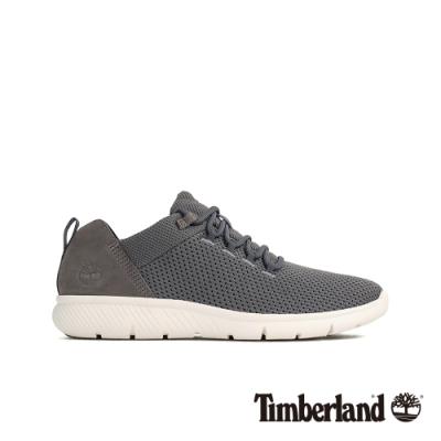 Timberland 男款泥炭色拼接休閒鞋|A1XNL