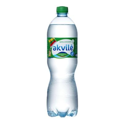 【立陶宛akvile】愛可麗-氣泡天然礦泉水(1000ml*12瓶)