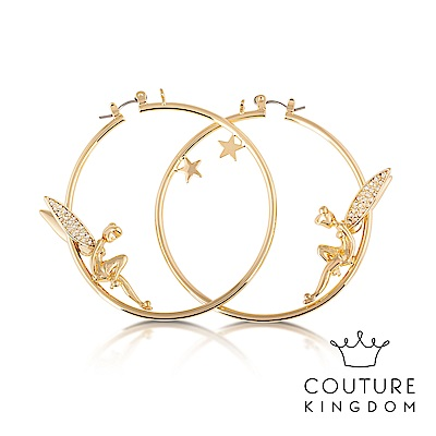 Disney Jewellery by Couture Kingdom奇妙仙子水晶鍍金耳環