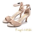 Pineapple Outfitter 華麗質感 水鑽麂皮高跟鞋-絨米