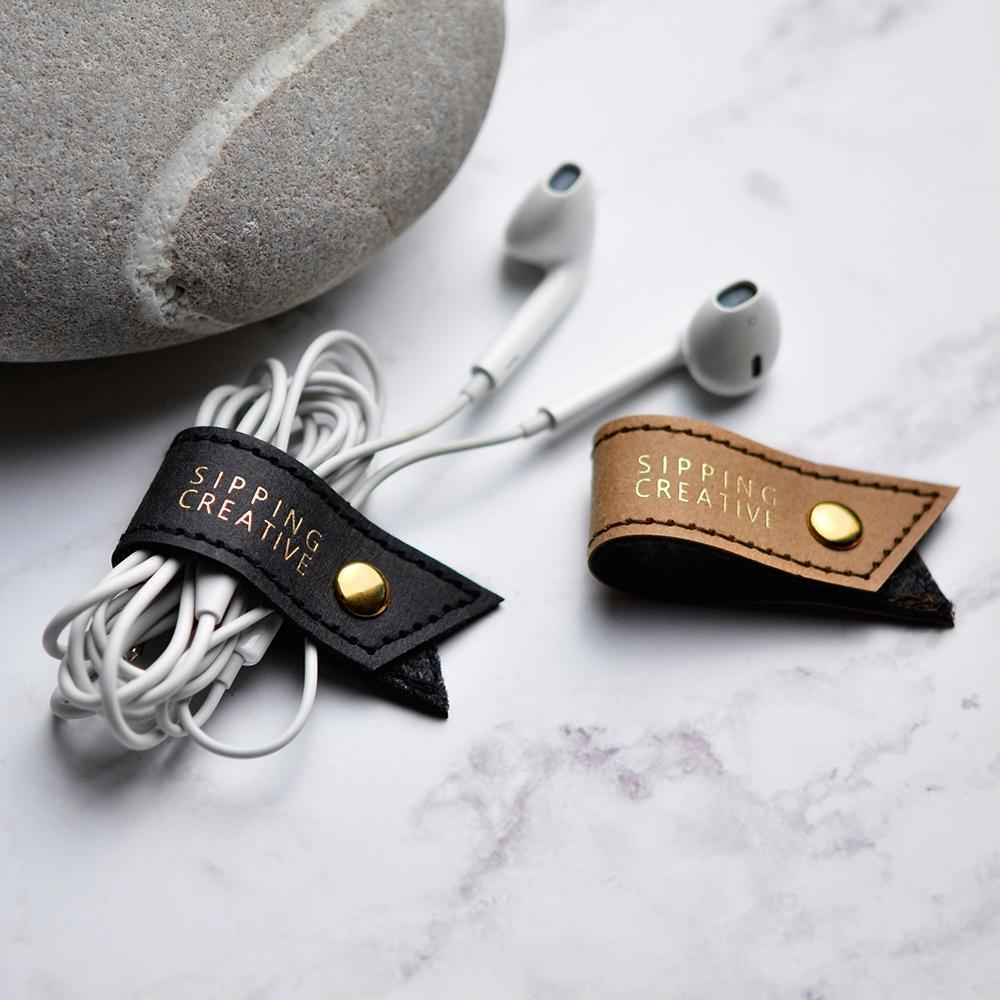 【俬品創意】耳機收納夾(2入)