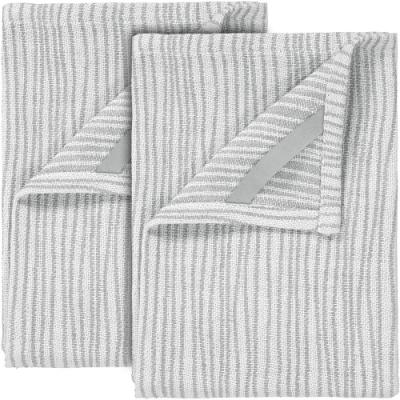 《BLOMUS》直條紋桌巾2入(灰)