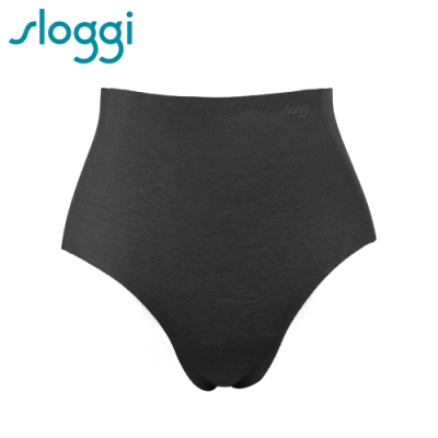 sloggi Zero Feel Cotton 零感系列混棉款高腰褲 純粹黑 R74-6561 04