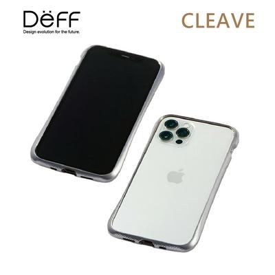 Deff CLEAVE 鋁合金保險桿 for iPhone iPhone 12 Mini 銀色