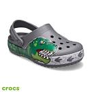 Crocs卡駱馳 (童鞋) 趣味學院恐龍酷閃小克駱格 206157-0DA