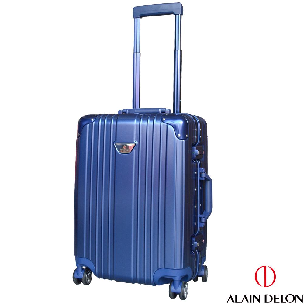 ALAIN DELON 亞蘭德倫 20吋流線雅仕系列登機箱  (藍) @ Y!購物