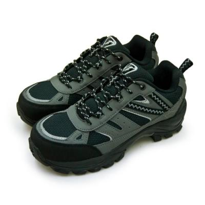 GOODYEAR 固特異透氣鋼頭防護認證安全工作鞋 守護者系列 黑灰 83900