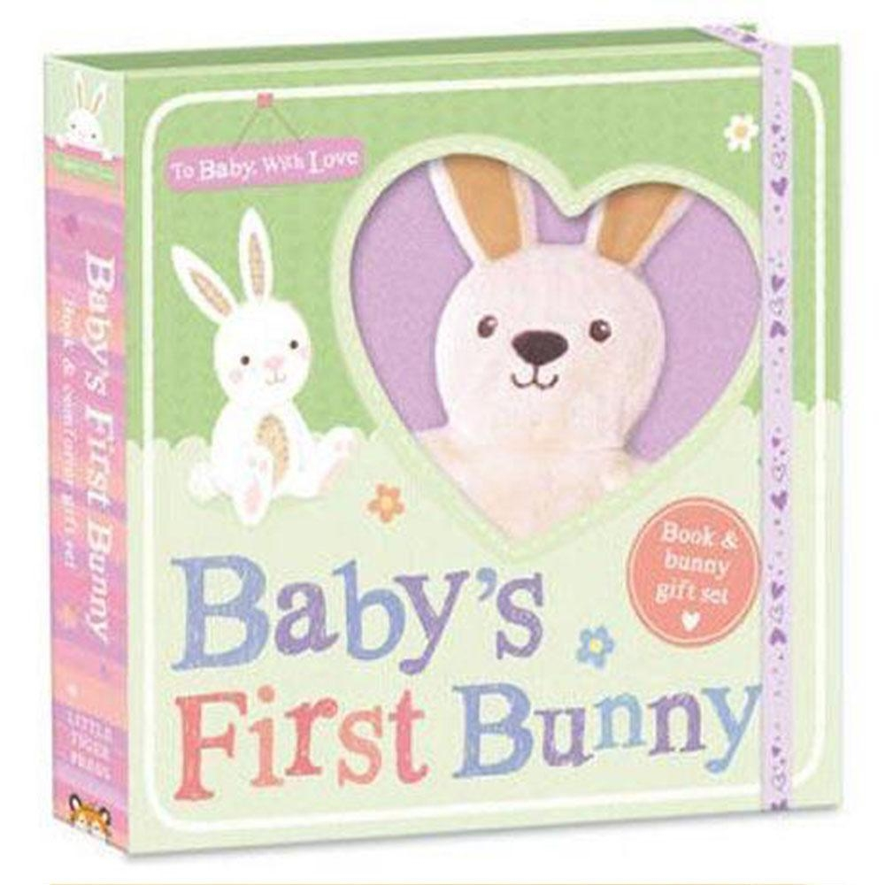 To Baby,With Love:Baby's First Bunny 寶貝的小兔禮物書