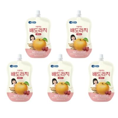 韓國 【BEBECOOK】 嬰幼兒雪梨紅棗桔梗汁5入組