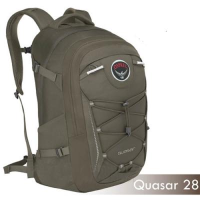 OSPREY 新款 Quasar 28L 超輕多功能城市休閒筆電背包_褐 R